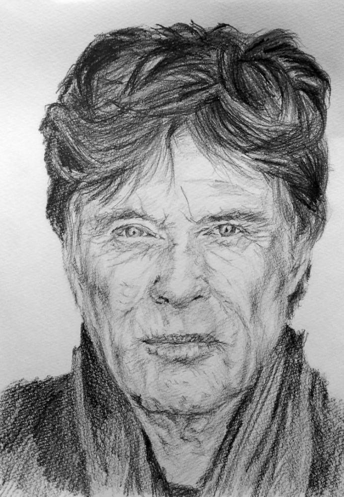 Robert Redford by linshyhchyang